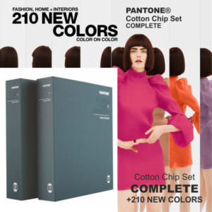 PANTONE Fashion, Home Cotton Chip Set