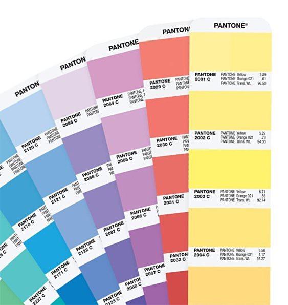 Favoloso PANTONE PLUS Formula Guide Solid coated & uncoated ideedaprodurre HJ39
