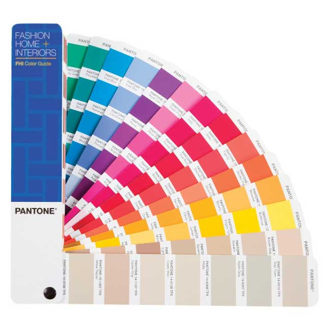 PANTONE Fashion Home + Interiors Color Guide