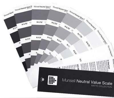 Munsell Neutral Value Scale Matte Finish