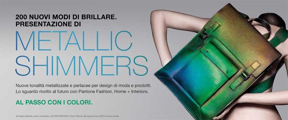 Slider Pantone Metallic Shimmers