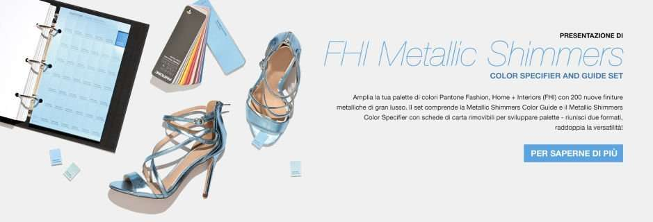 Pantone Metallic Shimmers