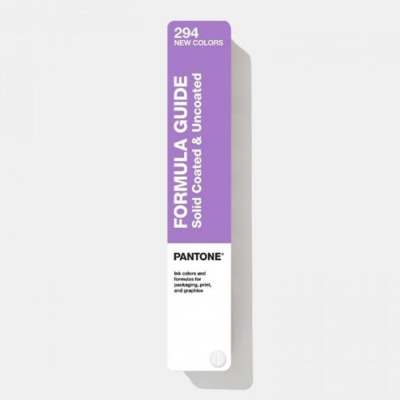 Pantone Formula Guide Solid C-U 294 New Colors