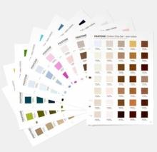 PANTONE Fashion & Home Cotton Chip Set 315 colors supplement