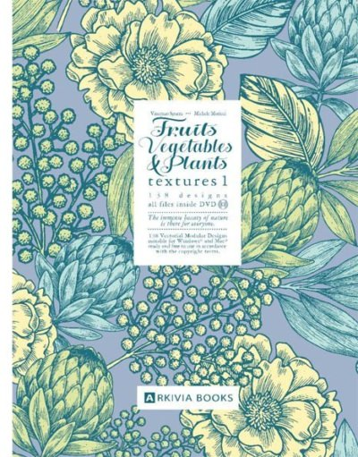 Fruits, Vegetable and Plants Texture Vol. 1